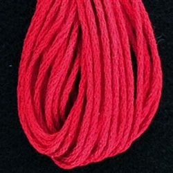 Valdani 6-Ply Floss Color #1333 - Christmas Red