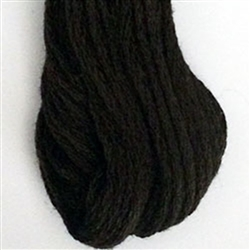 Valdani 6-Ply Floss Color #8123 - Brown Black Dark