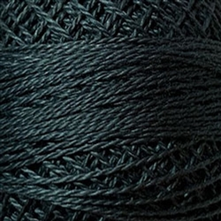 Valdani Perle Cotton Color #002 - Charcoal