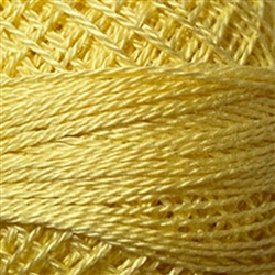 Valdani Perle Cotton Color #010 - Lemon