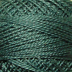 Valdani Perle Cotton Color #031 - Smokey Teal