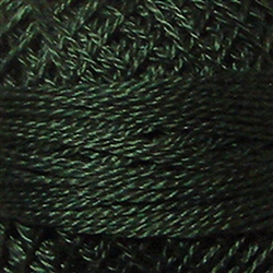 Valdani Perle Cotton Color #041 - Deep Forest Green