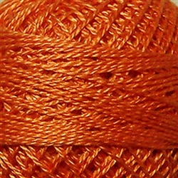 Valdani Perle Cotton Color #072 - Peach Orange