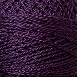 Valdani Perle Cotton Color #086 - Rich Plum