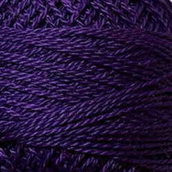 Valdani Perle Cotton Color #087 - Rich Purple