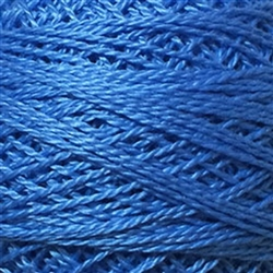 Valdani Perle Cotton Color #101 - Heavenly Blue