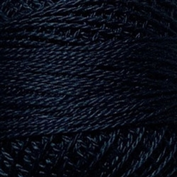 Valdani Perle Cotton Color #1072 - Vibrant Navy