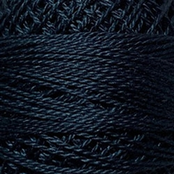 Valdani Perle Cotton Color #108 - Dusty Navy