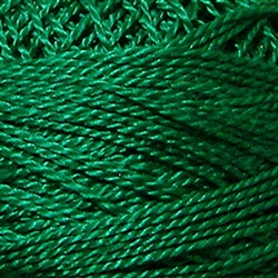 Valdani Perle Cotton Color #1252 - Rich Green Dark