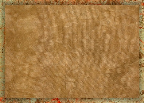Caramel Latte - Hand-dyed embroidery and cross-stitch fabrics by