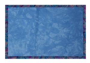 - 19 x 35 Blue Gray Hand-Dyed 16 Count Aida Cloth DMC//Charles Craft