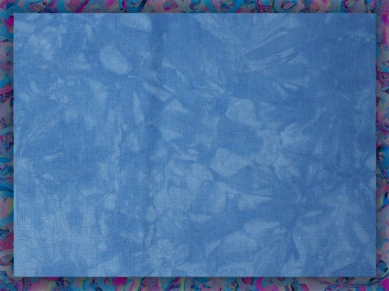 Forget-Me-Not - Hand-dyed embroidery and cross-stitch fabrics by