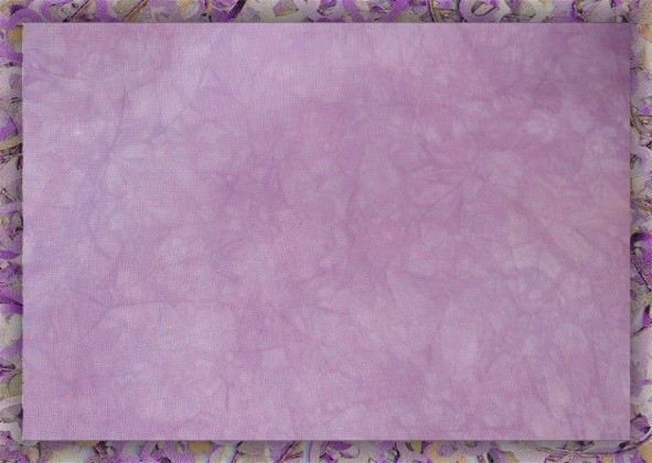 Plum Blossoms - Hand-dyed embroidery and cross-stitch fabrics by