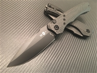 Heretic Knives Wraith Auto Distressed DLC Full Carbon Fiber