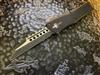 Marfione Custom Combat Troodon Warhound, Two Tone Dark Matter, Copper Accents