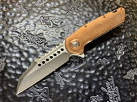 Marfione Custom Warhound Stonewashed, Eggshell Finished Copper Apocalyptic Titanium and Copper Accents