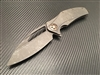 Marfione Custom Matrix-R Fallout Finish M390 FallOut Finish Titanium Fallout finish Copper Bronzed parts