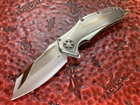 Marfione Custom Matrix, Mirror Polished Elmax, Titanium w/ SuperConductor Inlays and Bronzed Accents