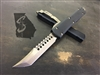 Microtech Ultratech Signature Series Hellhound Tanto Bronzed G10 Black