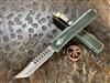 Microtech Ultratech Hellhound Tanto Bronzed Standard OD Green