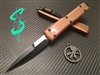 Microtech Ultratech Bayonet Standard Contoured Chassis Tan