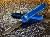 Microtech Ultratech Single Edge Standard Blue