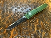 Microtech Ultratech Single Edge Standard OD Green