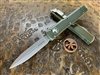 Microtech Ultratech Double Edge Apocalyptic Standard OD Green