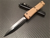 Microtech Ultratech Double Edge Tan G10 Standard