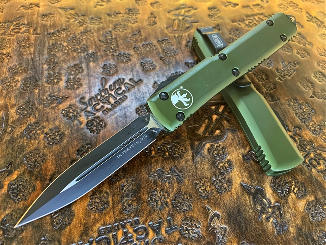 Microtech Ultratech Double Edge Standard OD Green