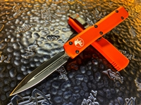 Microtech Ultratech Double Edge Orange Standard