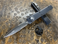 Microtech Ultratech Double Edge Part Serrated Tactical