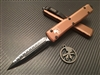 Microtech Ultratech Double Edge Full Serrated Tan