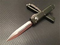 Microtech Ultratech Double Edge Satin Standard OD Green