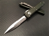 Microtech Ultratech Double edge OD Green Satin P/serrated