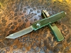 Microtech Ultratech Tanto Bronzed Apocalyptic Standard OD Green