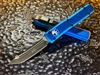 Microtech Ultratech Tanto Standard Blue