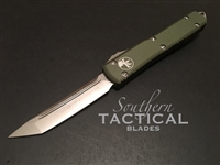 Microtech Ultratech Tanto Satin Standard OD Green