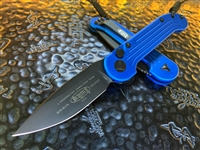 Microtech LUDT Single Edge Standard Blue