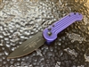 Microtech LUDT Single Edge Standard Purple