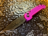 Microtech LUDT Single Edge Standard Violet