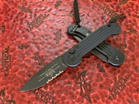 Microtech LUDT Single Edge Part Serrated Tactical
