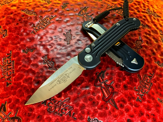 Microtech LUDT Single Edge Satin Standard