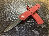 Microtech Troodon Double Edge Standard Red