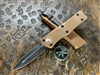 Microtech Troodon Double Edge Standard Tan