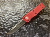 Microtech Troodon Single Edge Part Serrated Red