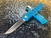 Microtech Troodon Single Edge Satin Standard Turquoise