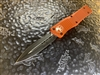 Microtech Combat Troodon Double Edge Standard Orange