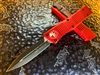 Microtech Combat Troodon Double Edge Standard Red