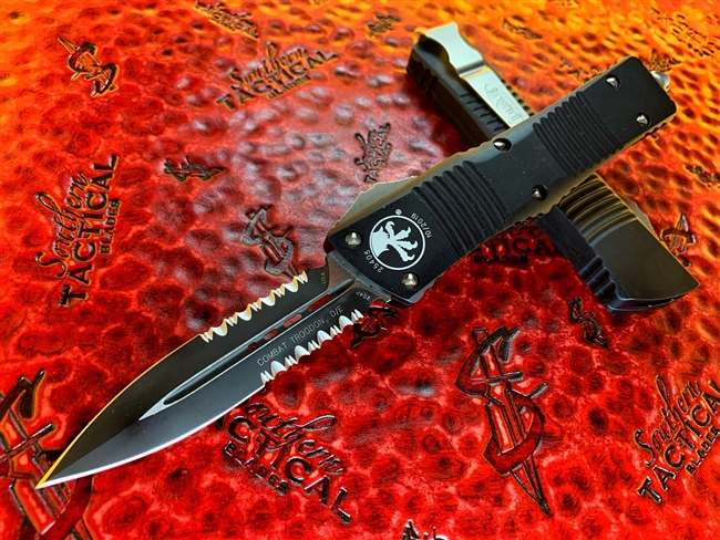 Microtech Combat Troodon Double Edge Part Serrated